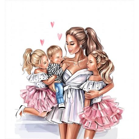 MOM & kids 4 ECO LEATHER PANEL