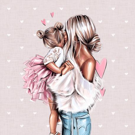 MOM & kids 2ECO LEATHER PANEL