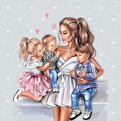 MOM & kids 5 ECO LEATHER PANEL