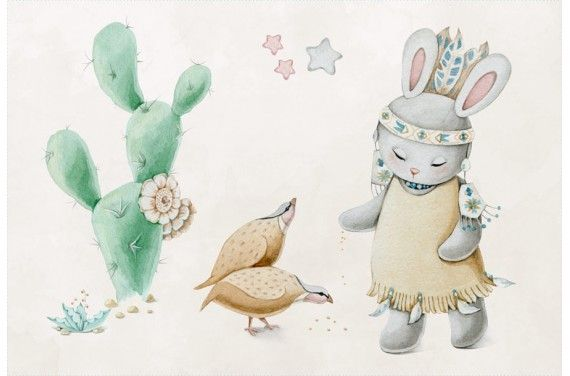 Indian bunny 3-poduszka