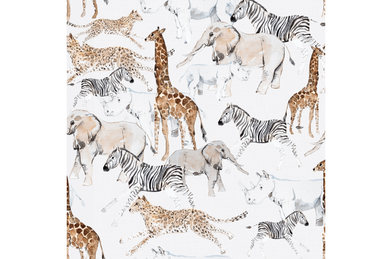 Pastel safari