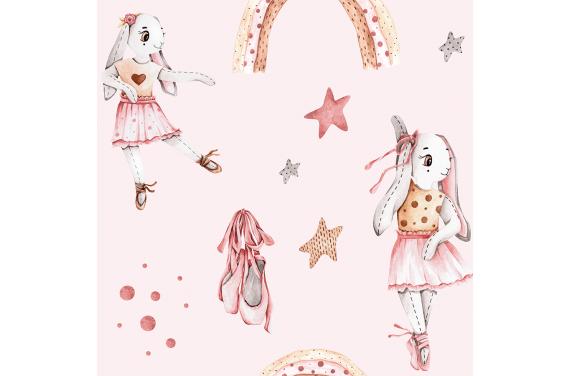 Bunny balerina- pink