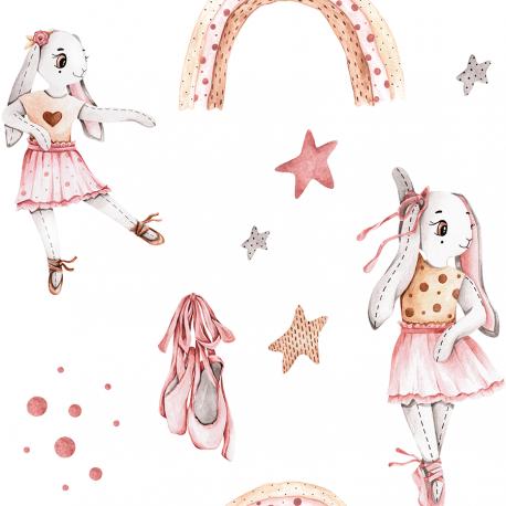 Bunny balerina- white