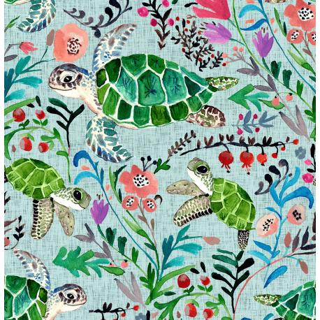 Hiding turtles