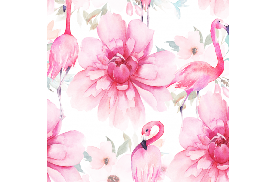 Flamingo flowers