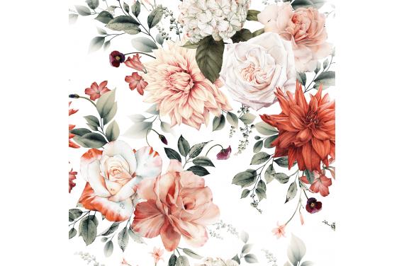 Terracotta floral 2
