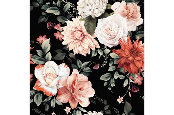 Terracotta floral 1