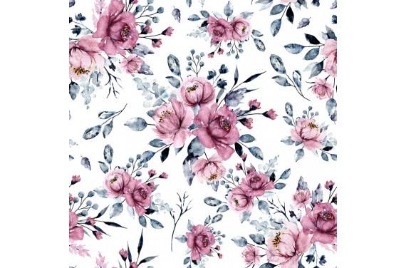 Romantic pink flowers