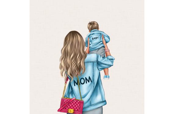 панель управления - MOM&BABY SON 1- 50x50