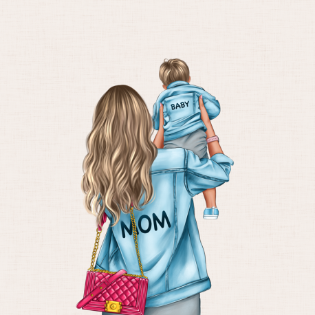 Panel for the bag - MOM&BABY SON 1-50x50