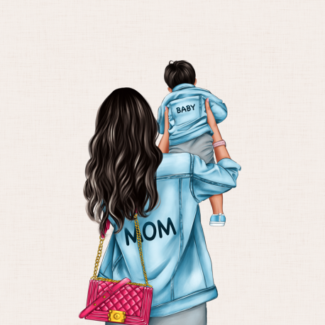 Panel for the bag - MOM&BABY SON 2-50x50