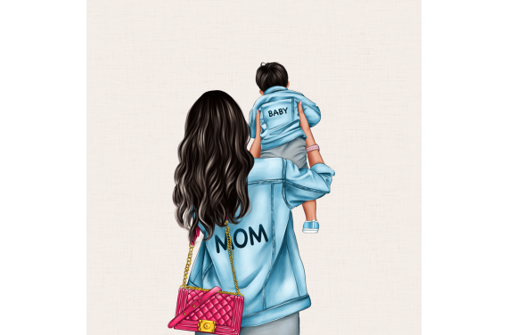 Panel for the bag - MOM&BABY SON 3-50x50