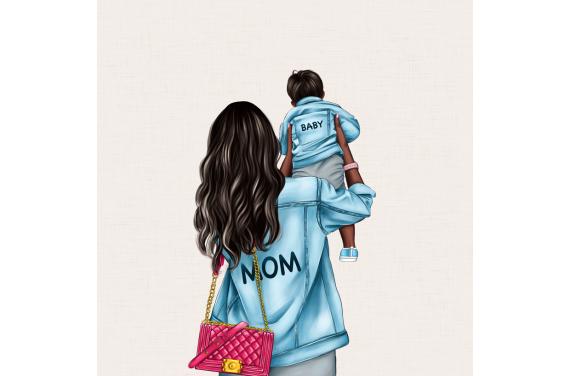 панель управления - MOM&BABY SON 4- 50x50
