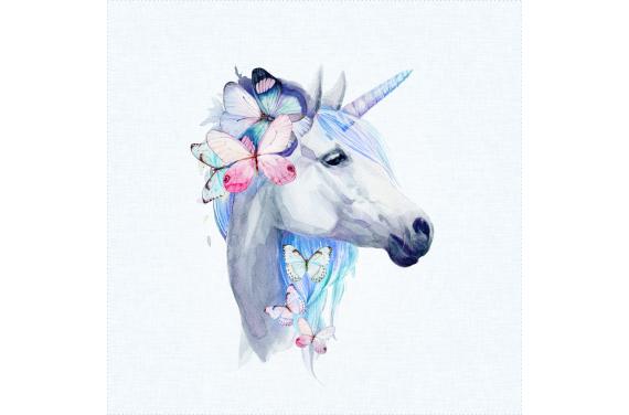 Panel for the bag - Unicorn-50x50