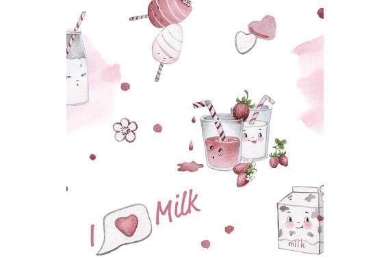 Milk ткань