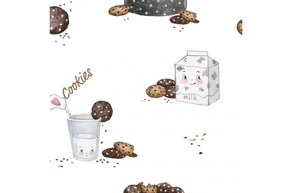 Cookies fabric