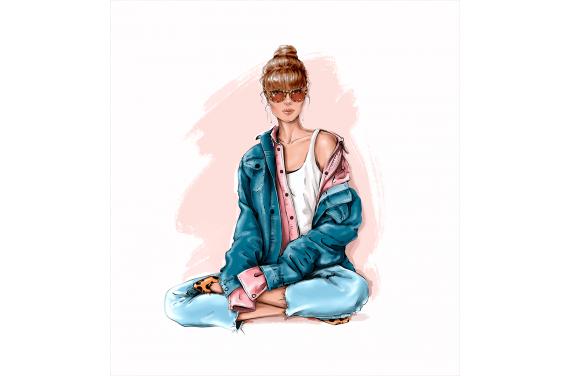 Girl 17 LEATHER PANEL
