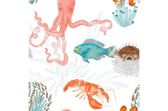 Sea 3 ткань