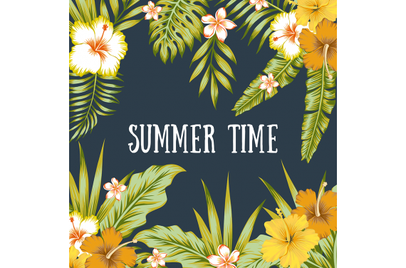 Panel for the bag -Summer time 1 50x50