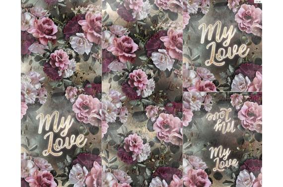 Panel na śpiworek  My love 1