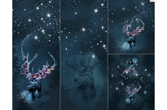 Panel na śpiworek - Winter forest 3