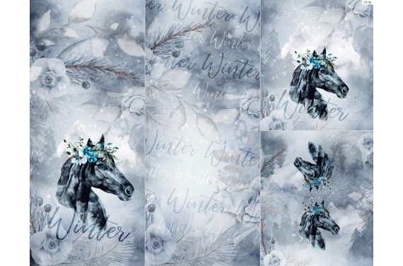 Полиэстер - Winter forest 4