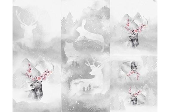 Полиэстер - Winter forest 15