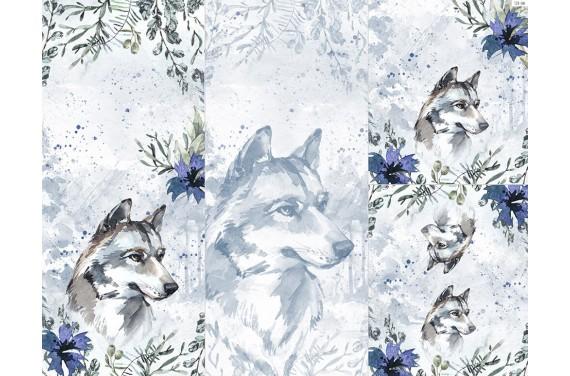 Полиэстер - Winter forest 11