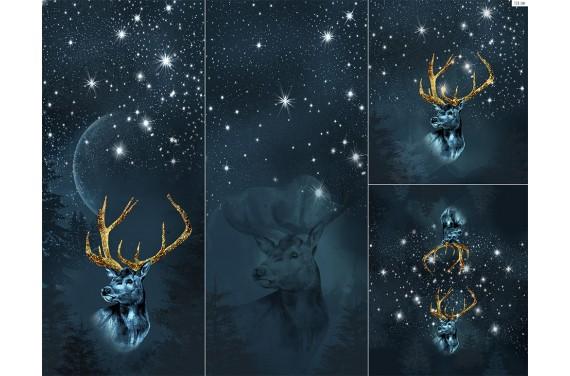 Panel na śpiworek - Winter forest 18