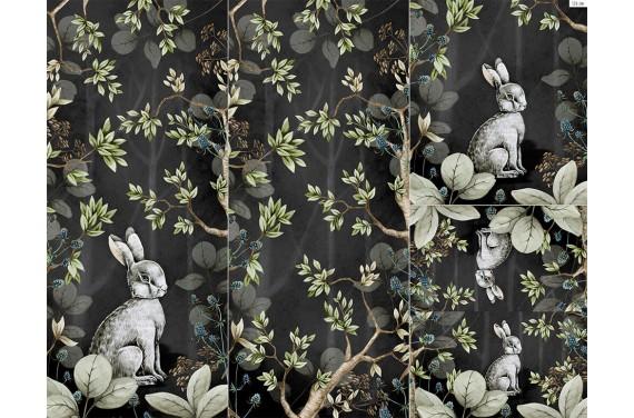 Panel for sleeping bag wild rabbit 2