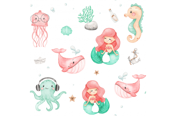 Under the sea girl new 2