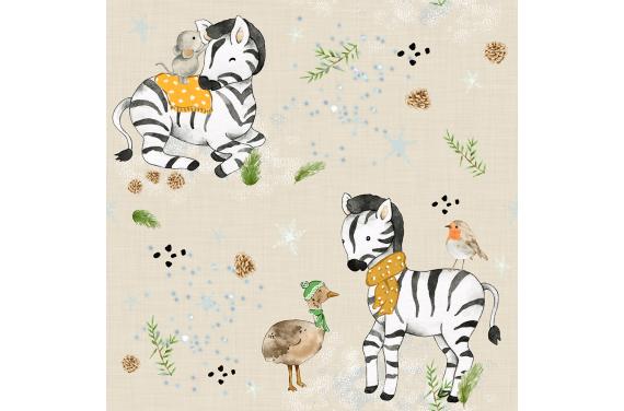 Little zebra 2 tkanina