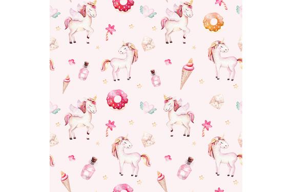 Sweet unicorn 8 tkanina