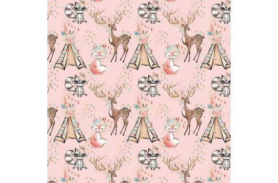Cute boho 5 tkanina