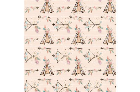 Cute boho 7 tkanina