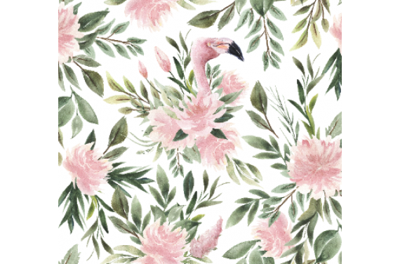 "Fabric ""Flamingo 1"""
