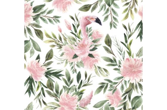 Flamingo tkanina