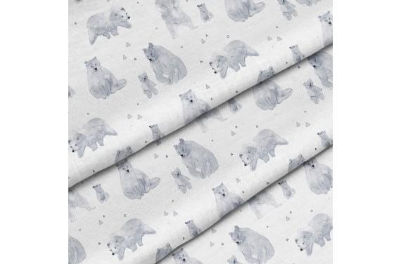 Polyester Eisbären