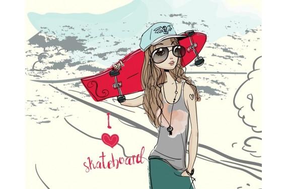 I LOVE SKATEBOARD