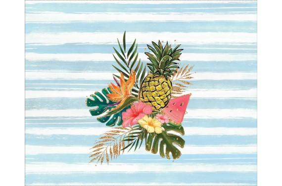 Panel na torbę - hawaii - 50x40 cm