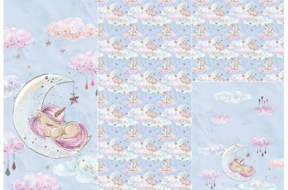 Panel for sleeping bag Baby Unicorn 2