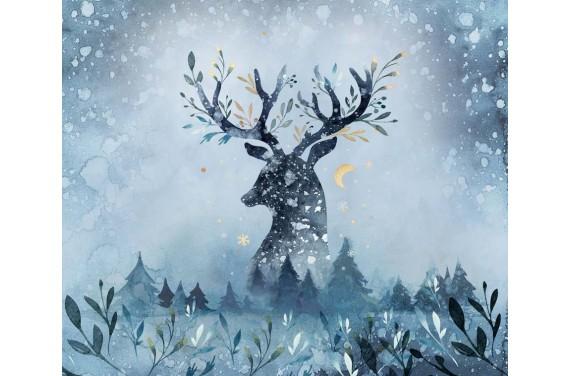 Deer ECO LEATHER PANEL