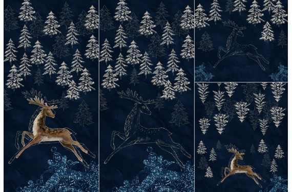 Panel for sleeping bag DEER Golden 2