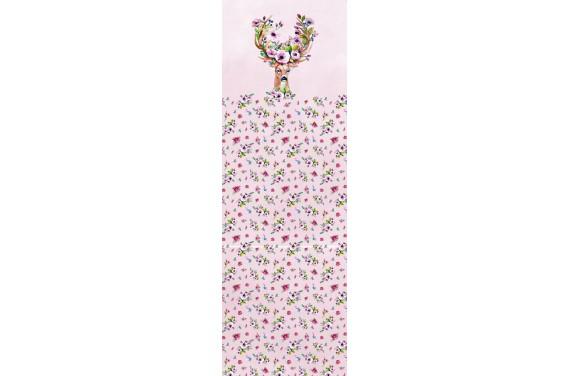Spring deer pink 2 вставка для тележки
