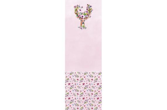 Spring deer pink 3 вставка для тележки