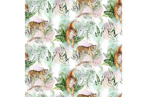 Tropical tiger 6 fabric