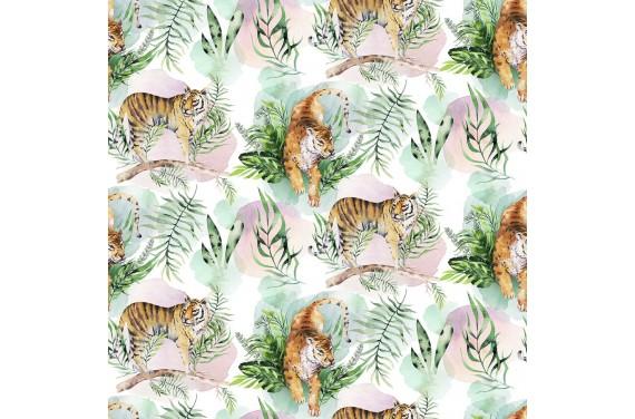 Tropical tiger 6 ткань