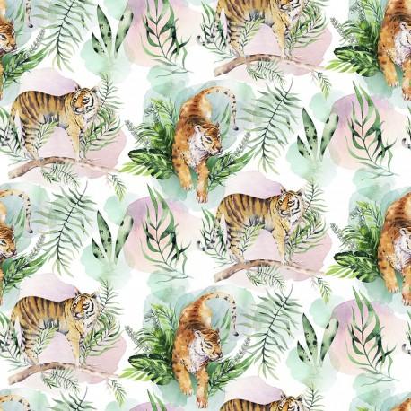 Tropical tiger 6 fabric