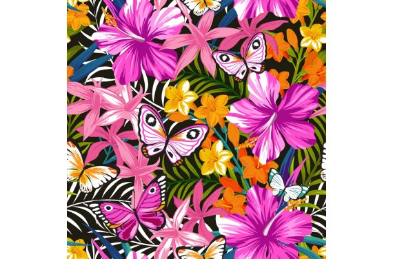 Hibiscus&Butterflies