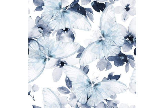 Blue buttrfly
